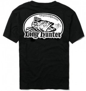 New Ling Hunter shirt is now printed on black for a super clean look! Limited supply.. Get them while they last!!!
