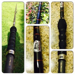 All new graphite lingcod jigging rods